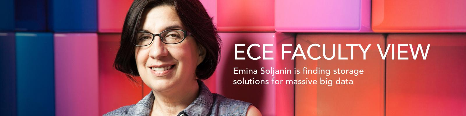 ECE Faculty View: Emina Soljanin is finding storage solutions for massive big data